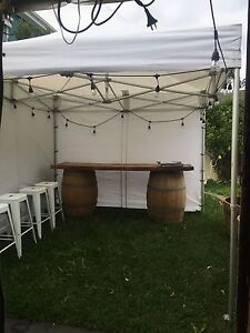 Wine barrel and Tolix stool hire,party equipment hire Noble Park Greater Dandenong Preview