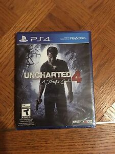 PS4 Uncharted 4 sealed