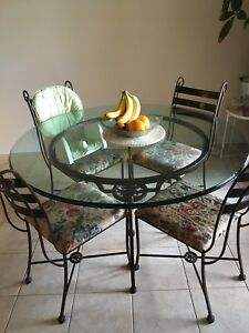 Pier one imports dining table and 4 chairs