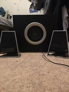 Altec Lansing Surround Sound Speakers