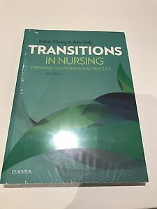 """Transitions in nursing"" text book Cannon Hill Brisbane South East Preview"