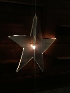 IKEA Glansa lighted star - hanging star light