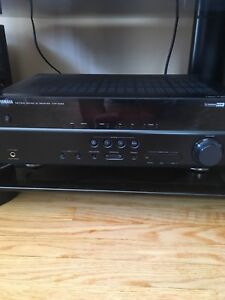 Receiver and speakers