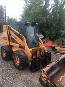 2004 case 90xt skid steer bobcat