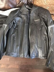 Victory new leather jacket size L