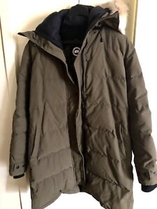 Canada goose shelburne parka military green