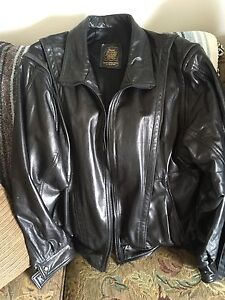 Ontario made Leather Jacket $100