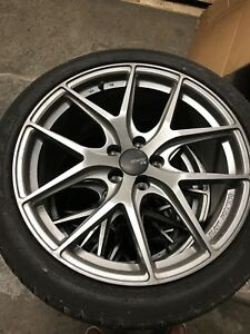 "MINT condition 19"" Fast Wheels for Nissan, Infiniti, Mustang"