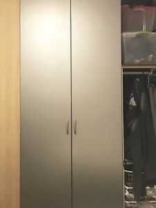 IKEA Pax Wardrobe - Grey Doors