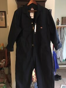 Dickies XL R long sleeve coveralls