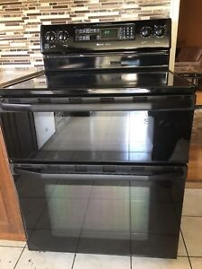 Maytag double oven stove for sale