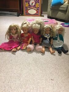 Dolls, Journey Girl and accessories