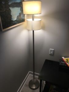Two Shade Floor Lamp