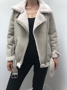 Zara Shearling Coat