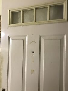 Two used doors