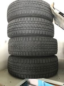 Winter tires 225/70/16 for Nissan Altima
