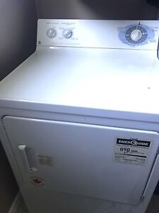 GE top load washer and dryer set in excellent condition