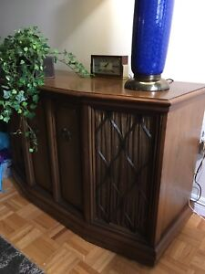 Vintage Zenith Cabinet Stereo
