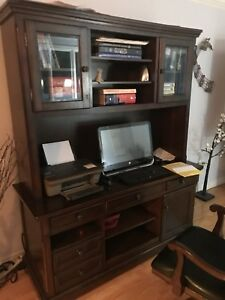 Executive Desk with Hutch and Chair