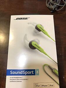 Bose Soundsport in ear wired headphone