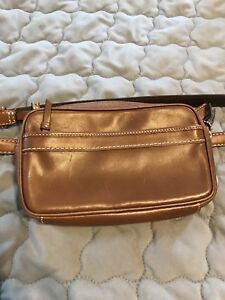 Authentic Coach Leather Fanny Pack