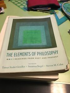 The elements of Philosophy and writing philosophy