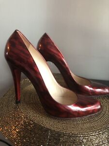 "Red Christian Louboutin ""Red Bottom"" size 7.5-8"
