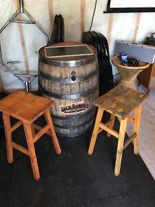 Jack Daniel's Barrel Arcade/High top table