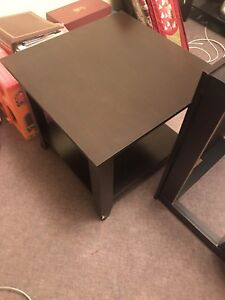 Side tables and matching coffee table