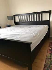 King Bed Frame excellent condition - IKEA