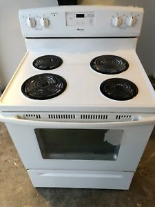 Whirlpool stove 30 inch works great