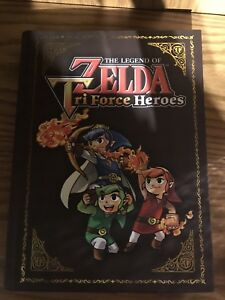 nintendo 3ds zelda triforce heros guide book