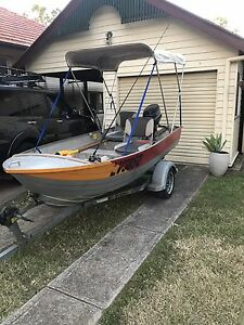 12ft Tinny with a 20HP Evinrude Outboard Motor AND trailer!!! Ipswich Ipswich City Preview