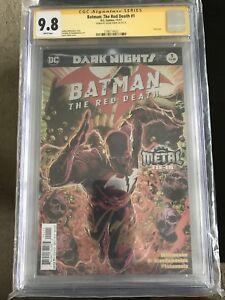 Batman Red Death 9.8 CGC Comicbook