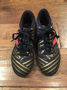 Kids size 1 adidas soccer cleats (outdoor)