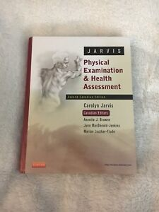 Physical Examination and Health Assessment 2nd Canadian Edition