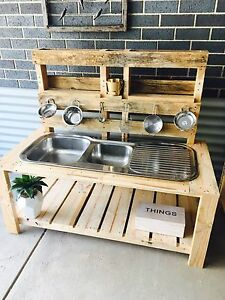 Custom made Pallet mud kitchen Crace Gungahlin Area Preview