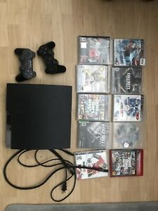 Ps3 with games and two controllers! 150 obo