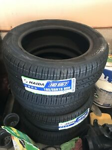 Set of 4 brand new 195/55/15 all season tires