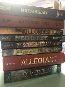 Hunger Games/Divergent/Maze Runner Books