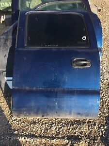 Have a 2004 Chevrolet Silverado crew cab rear drivers door
