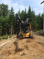 Deck post /screw piles / helical piles
