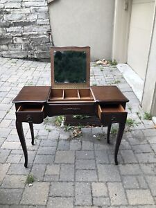 Antique Wood Dressing Table