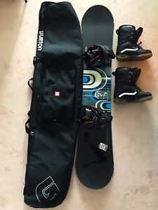 Snowboard package for learner