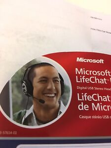 Microsoft LiveChat LX-3000 Head set