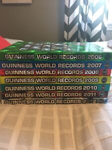 Guinness World Record Books: all from 2006-2012