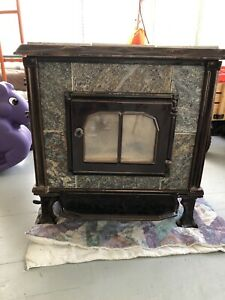 Hearth stone II free standing wood stove - Rear flue