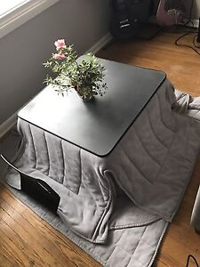 Japan Import Kotatsu (Heated Table) Rare In Canada!!!