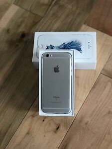 iPhone 6s 64gb silver grey unlocked