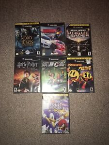 GameCube plus games and controllers
